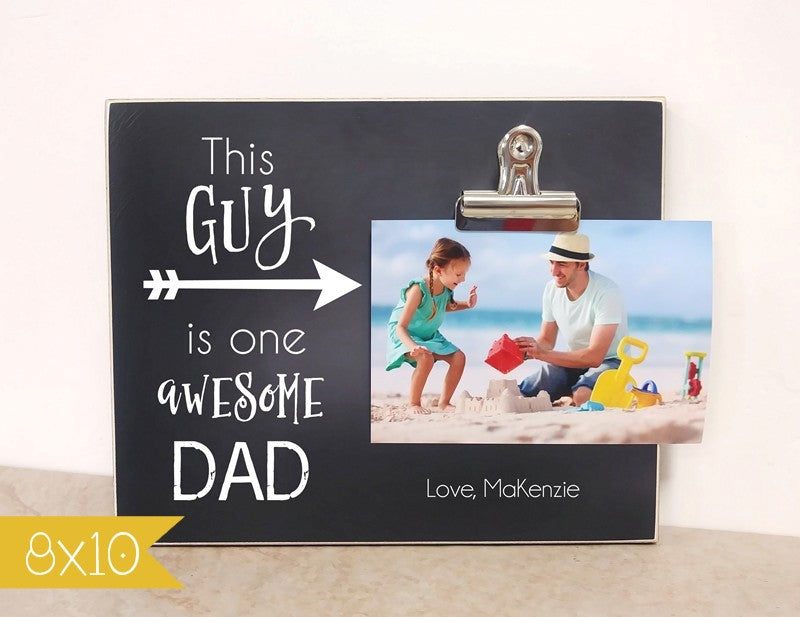 one awesome dad frame