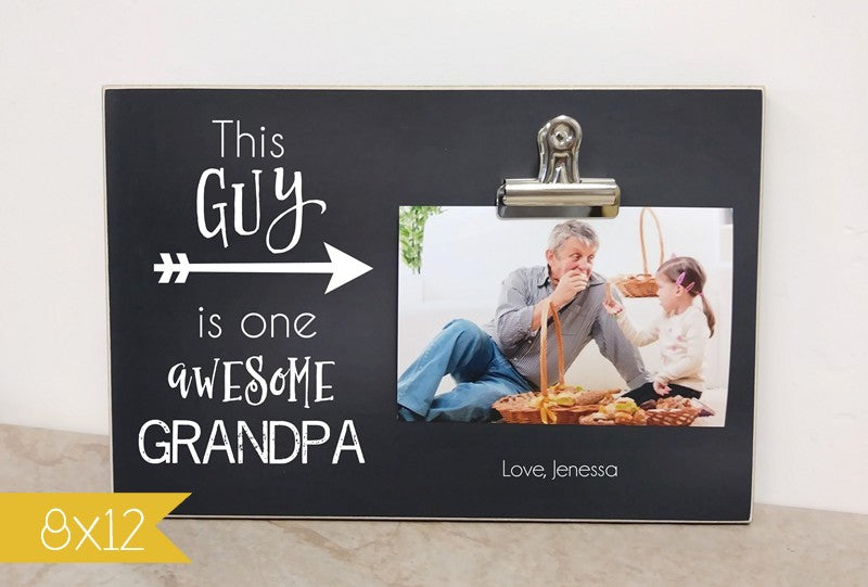 one awesome grandpa frame