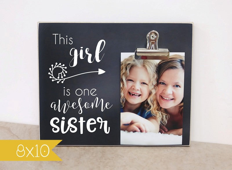 one awesome sister frame