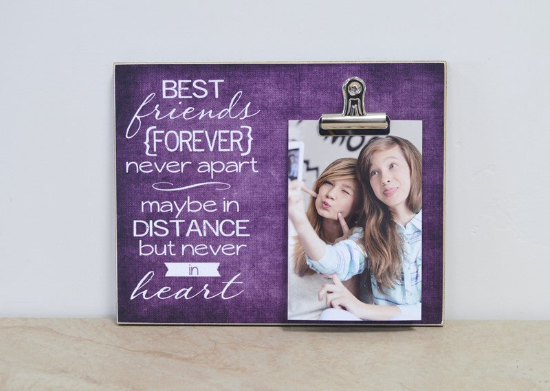 best friend forever-going away frame