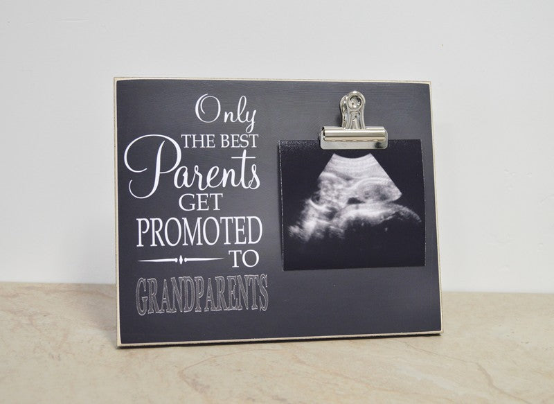 Only The Best Parents Get Promoted to Grandparents. Pregnancy Reveal To Grandparents