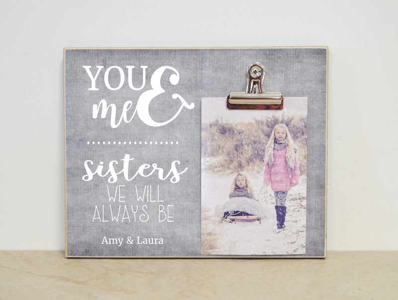 Sisters Photo Frame You Me Dandelion Wishes
