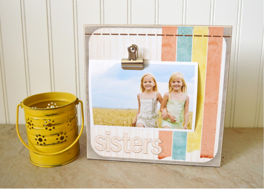 sisters photo frame, gift for sisters, girls bedroom decor, sisters decoration
