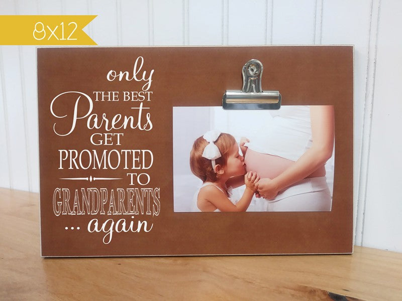 pregnancy reveal photo frame
