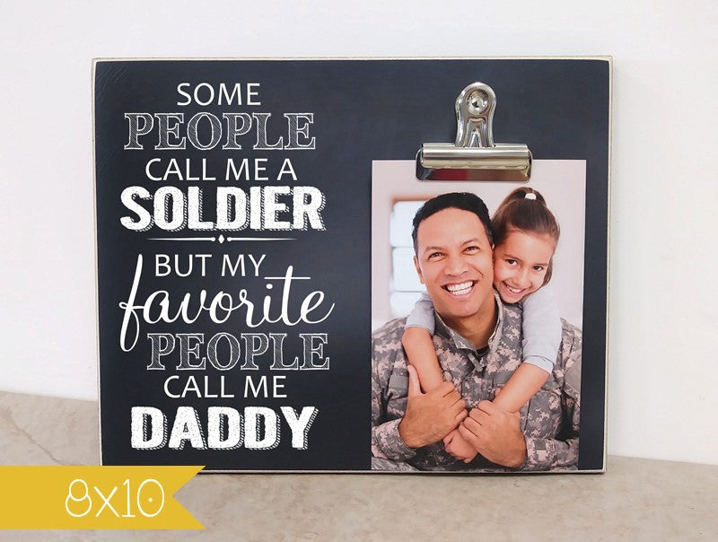 soldier gift, deployment gift for dad, daddy gift personalized picture frame for dad, frame for soldier