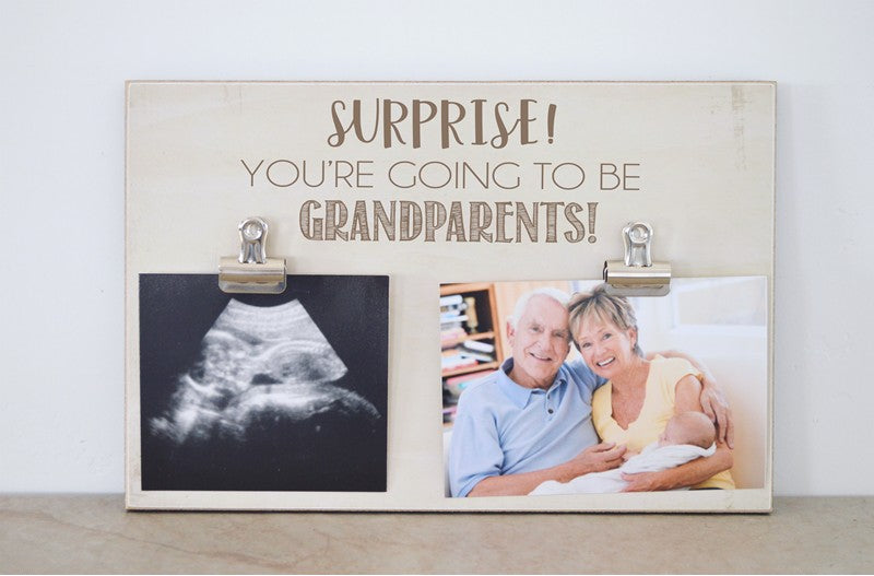 surprise you're going to be grandparents, pregnancy reveal to parents