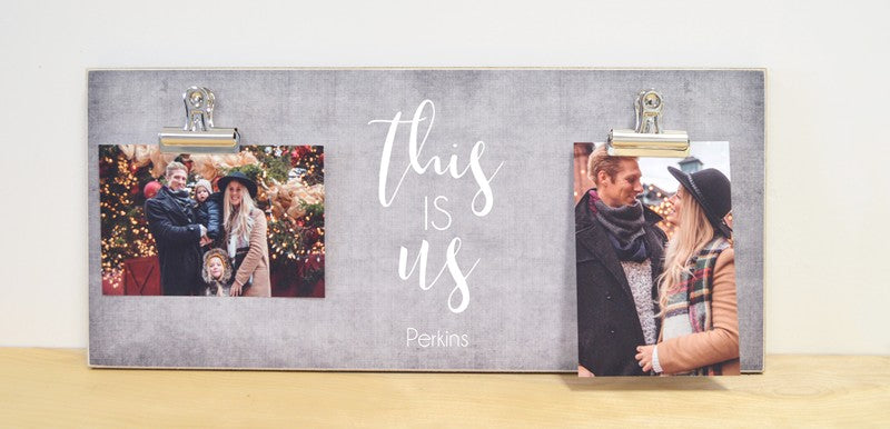 this is us , custom photo frame, family gift, couples gift, gift for family