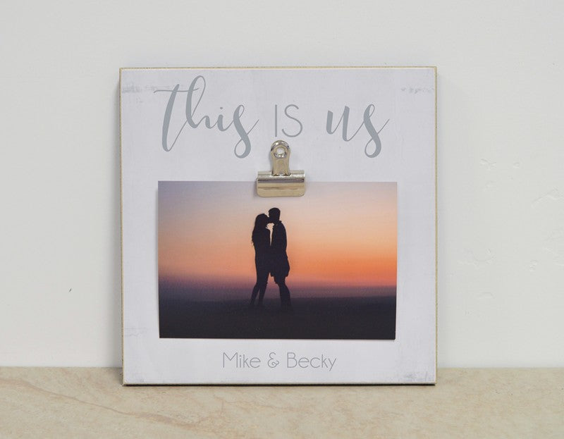This Is Us - Family or Couples Picture Frame