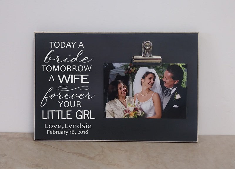 mother of the bride gift, mother of the bride photo frame