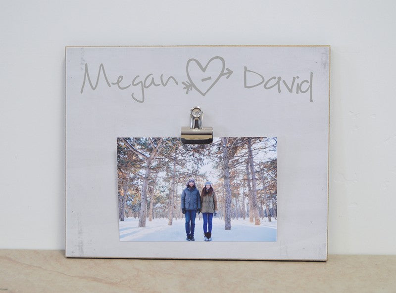 Personalized Photo Frame Gift For Couple