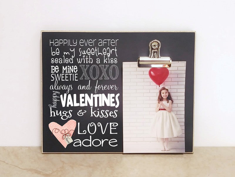 Valentine's Day Photo Frame, Valentines Decor
