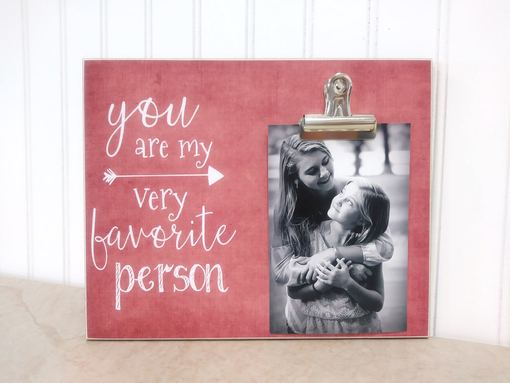 you are my very favorite person picture frame, photo frame, best friend gift, gift for best friend