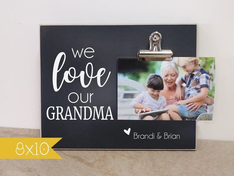 We Love Our Mommy - Custom Photo Frame For Mommy