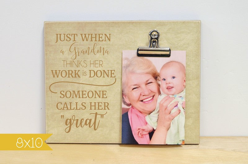great grandma photo frame gift for grandma mothers day gift idea