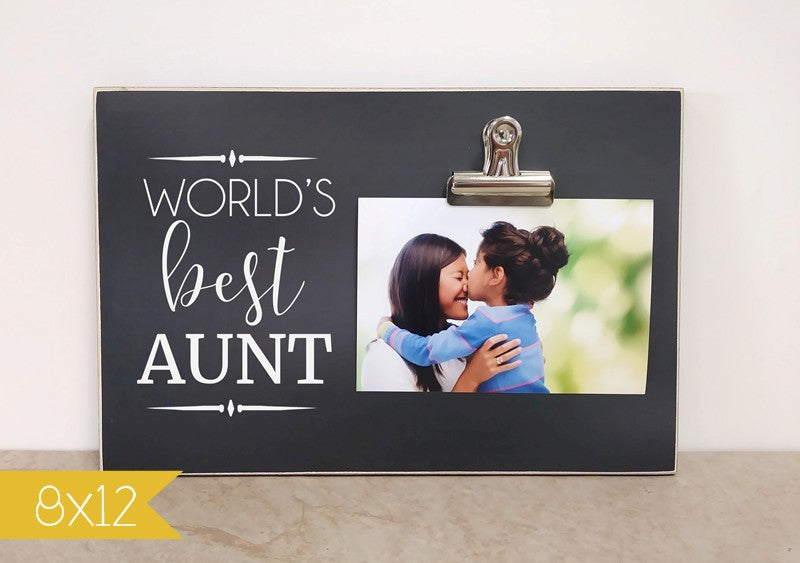 worlds best aunt frame