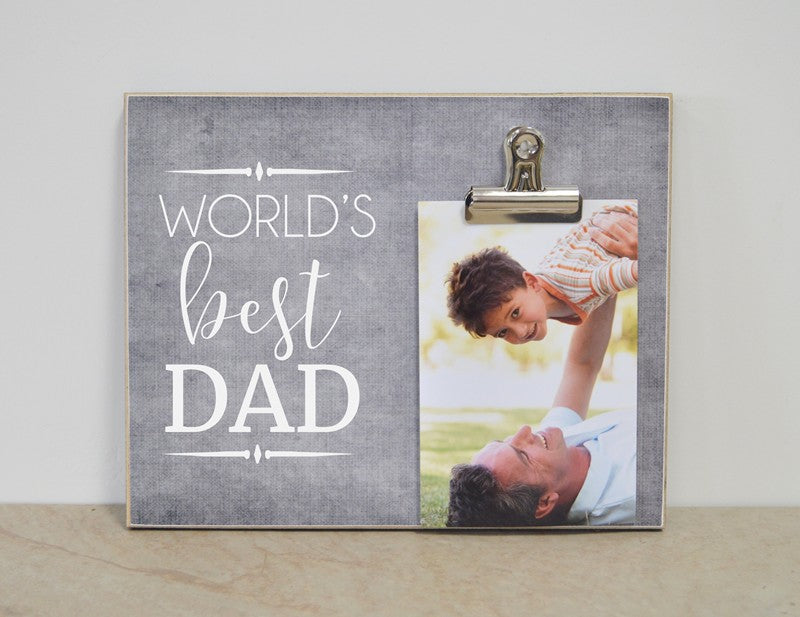 World's Best Dad Photo Frame