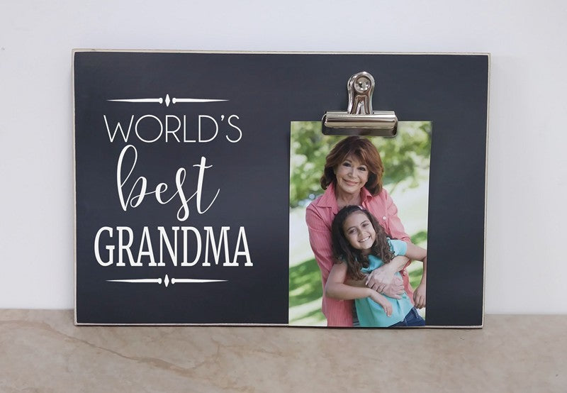 World's Best Nana (Grandma) Photo Frame