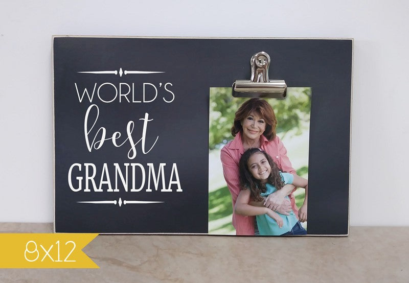 worlds best grandma frame