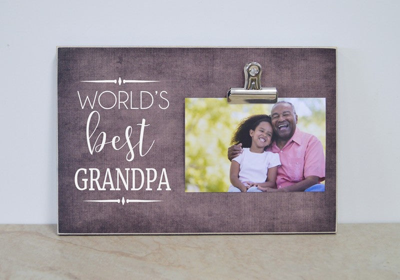 World's Best Grandpa Photo Frame