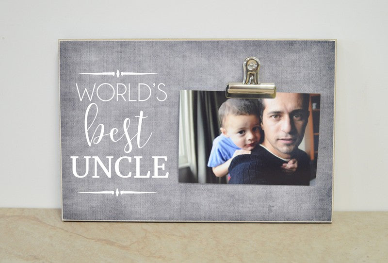 worlds best uncle photo frame uncle gift