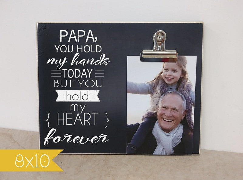 father's day photo frame gift for grandpa, grandpa gift, personalized photo frame, personalized gift for grandpa