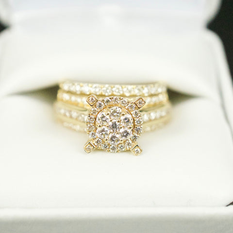 Gold & Diamond Ladies Engagement Set #14