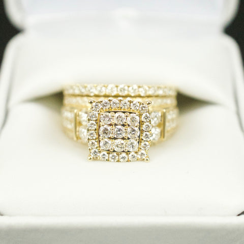 Gold & Diamond Ladies Engagement Set #16
