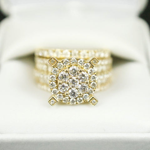 Gold & Diamond Ladies Engagement Set #18