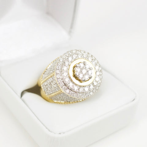 Gold & Diamond Mens Ring #29