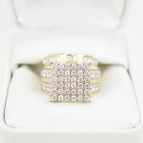 Gold & Diamond Ladies Engagement Set #1