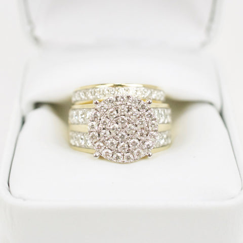 Gold & Diamond Ladies Engagement Set #5