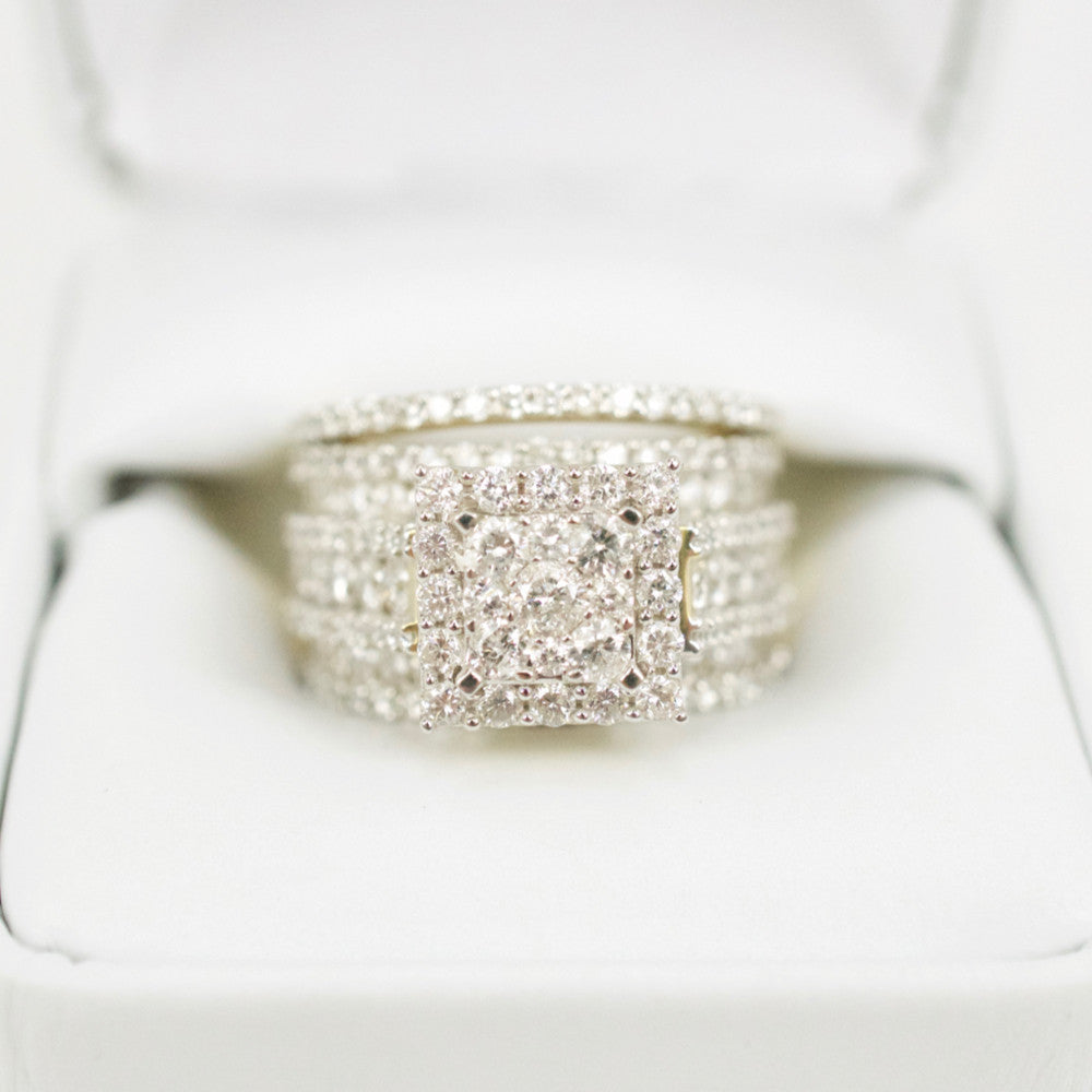 Gold & Diamond Ladies Engagement Set #8
