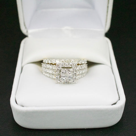 Gold & Diamond Ladies Engagement Set #21