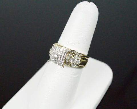 Gold & Diamond Ladies Engagement Set #25