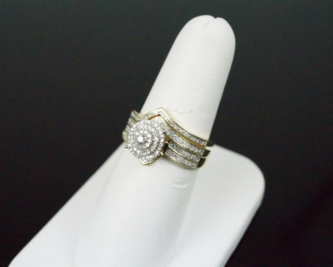 Gold & Diamond Ladies Engagement Set #26