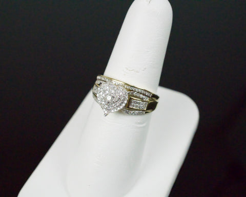 Gold & Diamond Ladies Engagement Set #27