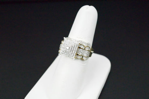 Gold & Diamond Ladies Engagement Set #28