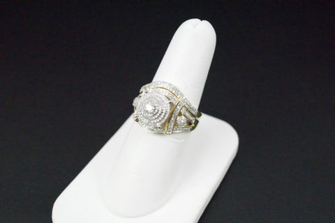 Gold & Diamond Ladies Engagement Set #30