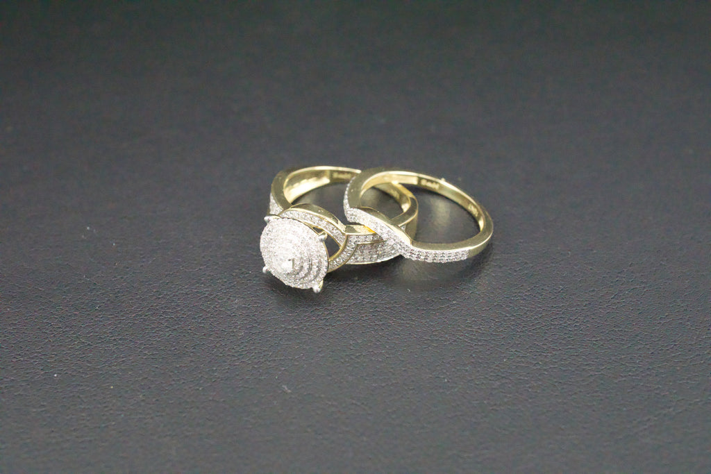 Gold & Diamond Ladies Engagement Set #31