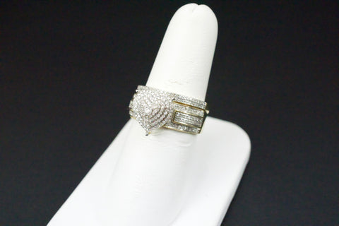 Gold & Diamond Ladies Engagement Set #32