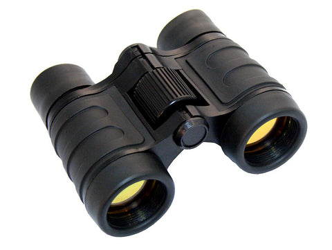 Perrini 4x30 High Powered PowerView Quick Focus Ruby Coated Binoculars