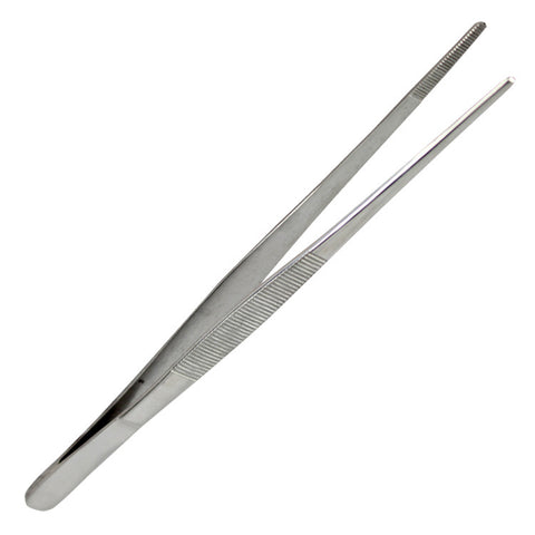 "Bdeals General Purpose Thumb Dressing Forceps Tweezers 5.5"" Stainless Steel"