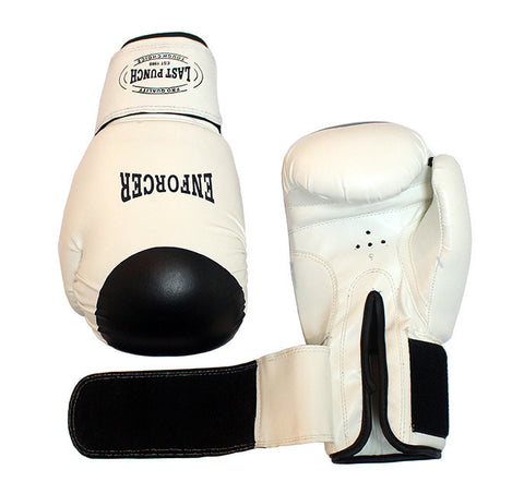 White Pair Pro Boxing Gloves For Training Exersice Boxers
