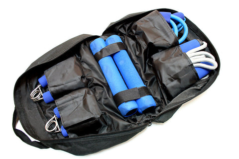New Work Out Kit With Carrying/ Storage Case 4 Pc Set