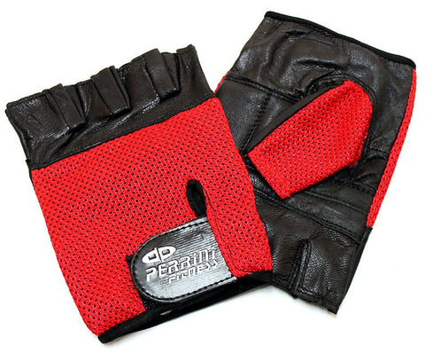 Leather Gloves Red Color