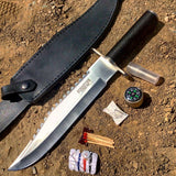 "Defender 15"" Stainless Steel Blade Survival Knife with Sheath"