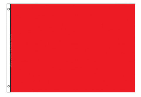 Perrini Poly Nylon 3x5 Red Flag