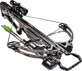 Barnett Edge 135lbs Realtree AP Crossbow with 4x32 Scope & 2 Headhunter Arrows