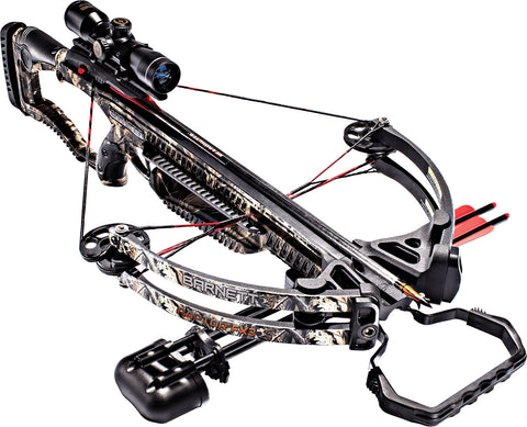 Barnett Raptor FX3 Realtree Hardwoods 150 lbs Crossbow Package with 4x32 Scope
