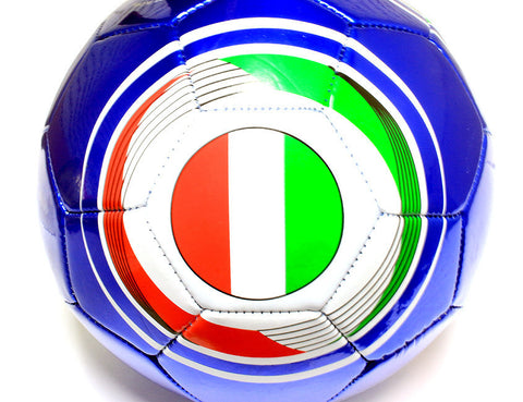 Italia Flag Practice Soccer Ball Official Size 5 ITA